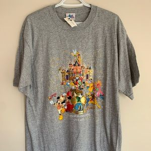 Disney 50th Anniversary Tshirt Mens XL BNWT